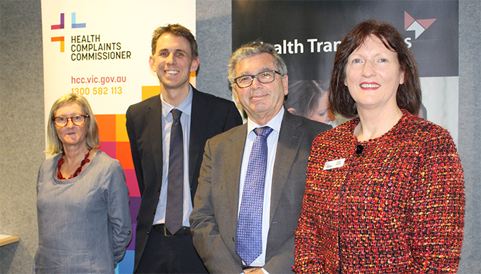 The launch of the Health Translations Directory at North Richmond Community Health, 2017