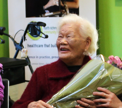 North Richmond Community Health's oldest client celebrates 107th birthday
