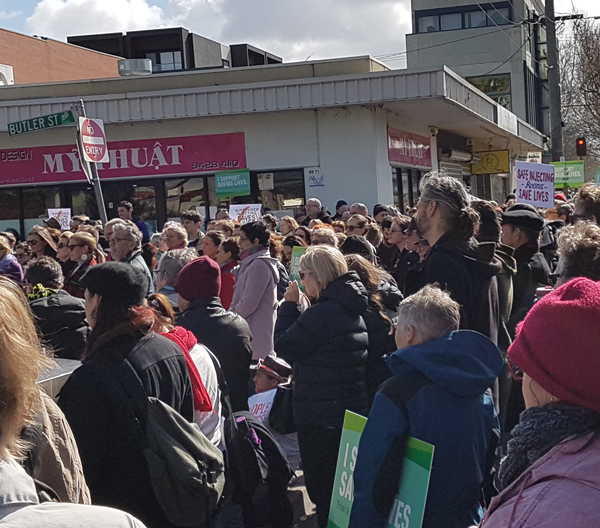 How to save lives: Rallying for a supervised injecting facility in North Richmond