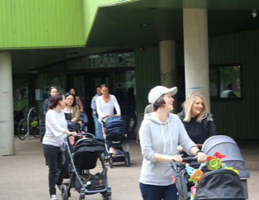 Why group pram walks are good for you