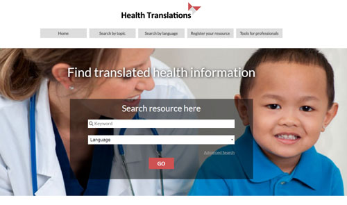 The Health Translations Directory, a project by North Richmond Community Health (NRCH)