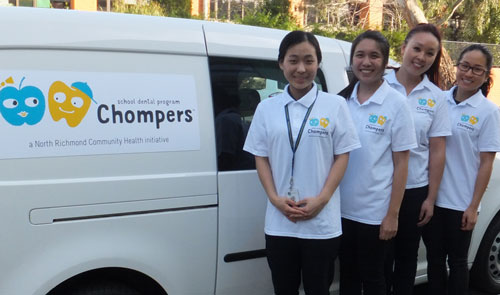 Chompers child oral health program at North Richmond Community Health