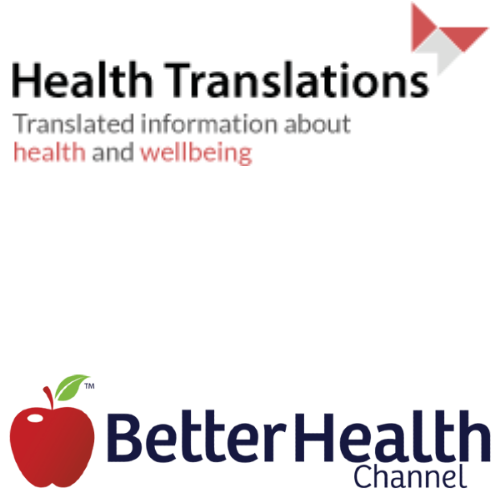Health Translations and Better Health logos